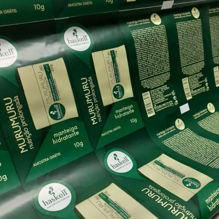 Impressão de embalagens flexiveis