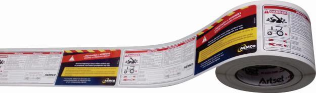 Impressão flexográfica em papel