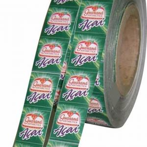 Etiquetas adesivas para produtos alimentícios