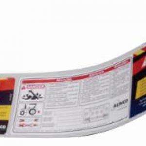 Impressão de rótulos adesivos